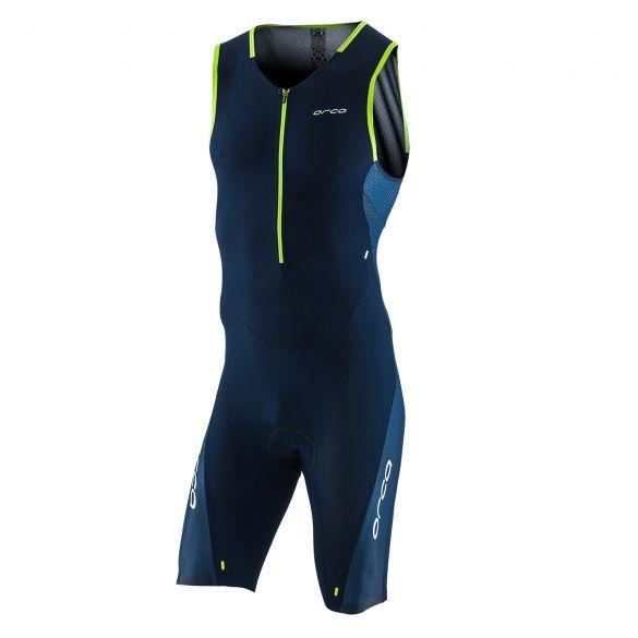 Orca 226 kompress race trisuit mouwloos blauw heren  KP1284