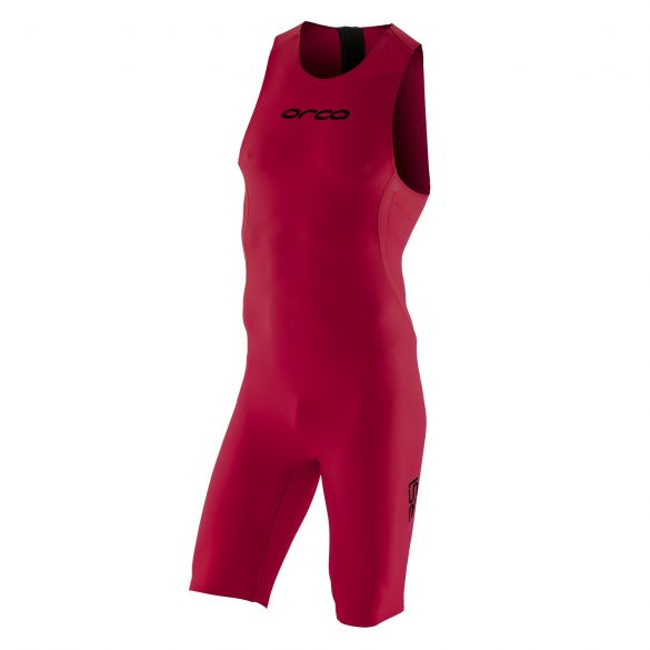 Orca RS1 swimskin mouwloos rood heren  KR1998