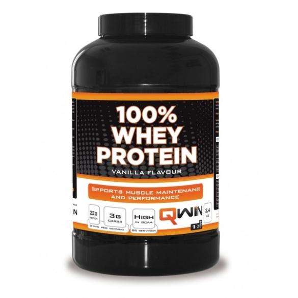 QWIN 100% Whey Protein Vanille 2400 gram  3701