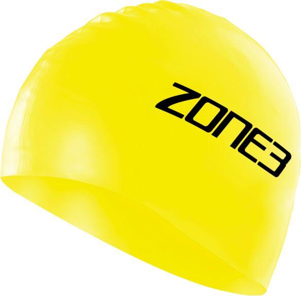 Zone3 Silicone swim cap geel  SA18SCAP115
