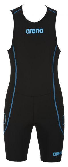 Arena ST rear zip mouwloos trisuit zwart heren  AR1A919-55