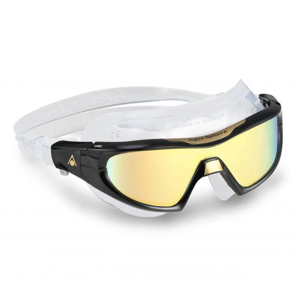 Aqua Sphere Vista Pro multilayer mirror lens zwembril zwart  AS187020