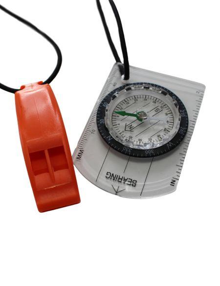 Zone3 Swimrun kompas en fluitje combo  WS18USRC101
