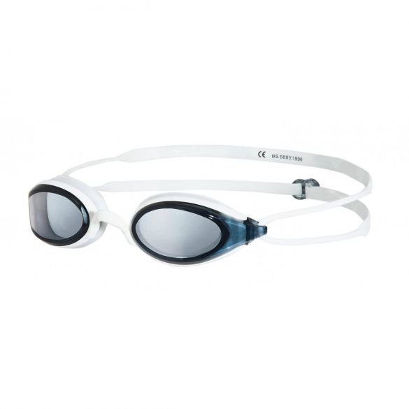 Zoggs Fusion Air zwembril wit - donkere lens  306755