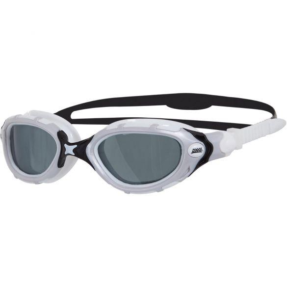 Zoggs Predator flex Polarized zwembril wit zwart  329847