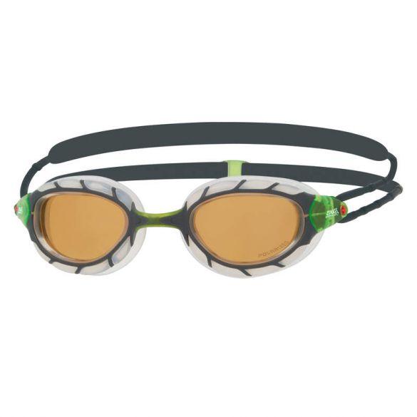 Zoggs Predator polarized ultra zwembril groen/wit  461058-307766
