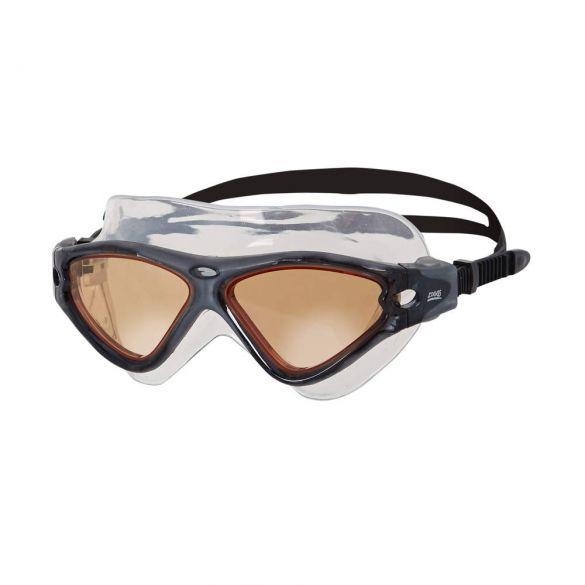 Zoggs Tri-Vision Mask zwembril zwart - oranje lens  461075-307919