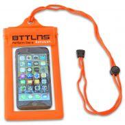 Waterdichte telefoonhoes oranje