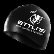 BTTLNS Siliconen badmuts zwart Absorber 2.0
