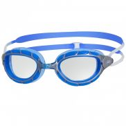 Zoggs Predator zwembril zilver/blauw