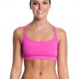 Funkita Still roze Sports bikinitop dames