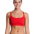 Funkita Still rood Sports bikinitop dames